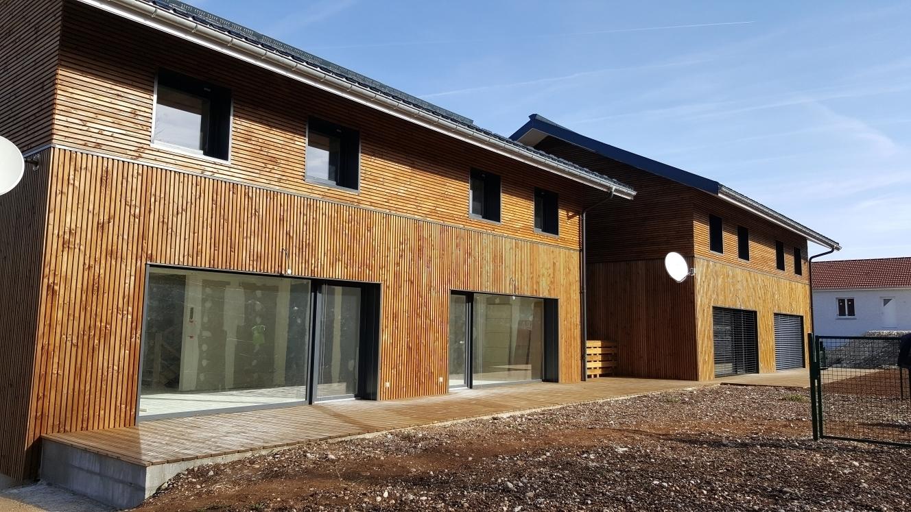 Construire sa maison bois maison moderne for Maison moderne a construire