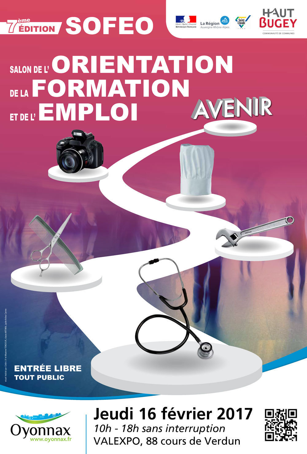 Le journal ain oyonnax l 39 ainpact l 39 actualit locale et for Salon recrutement 2017