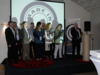 Les organisateurs honorés  par le Pdt Pernot