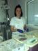 Camille,  infirmière au service réanimation  de la clinique Convert à Bourg-en-Bresse