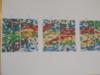 Canavas de fabrication en couleur.