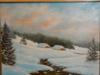Paysage d'hiver dans le haut